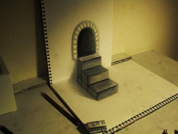 Как рисовать 3D рисунки