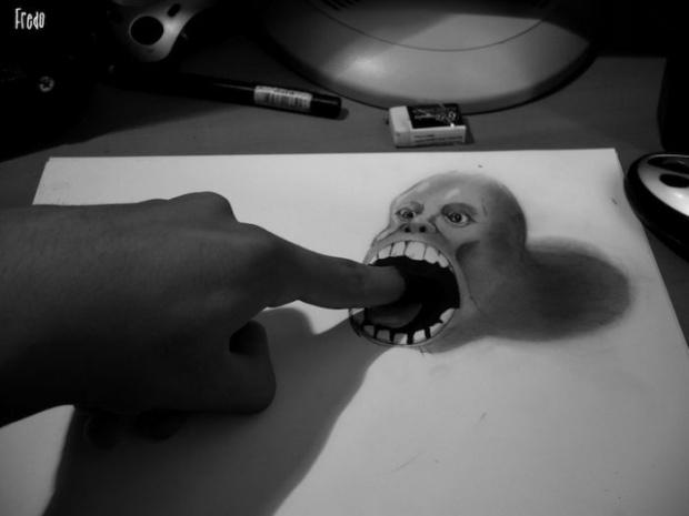 Как рисовать 3D рисунки: pencilmaster.ru/kak-risovat-3d-risunki