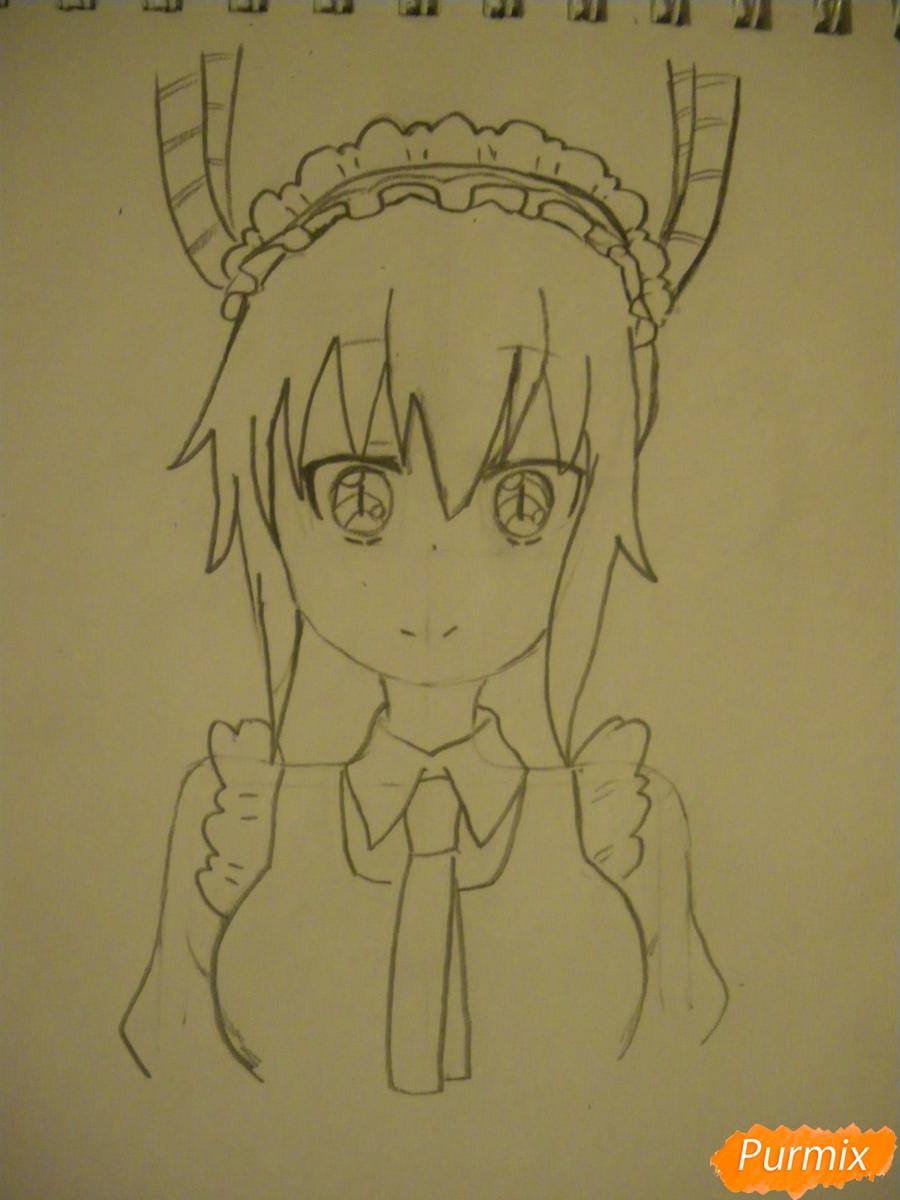 как нарисовать тору из аниме