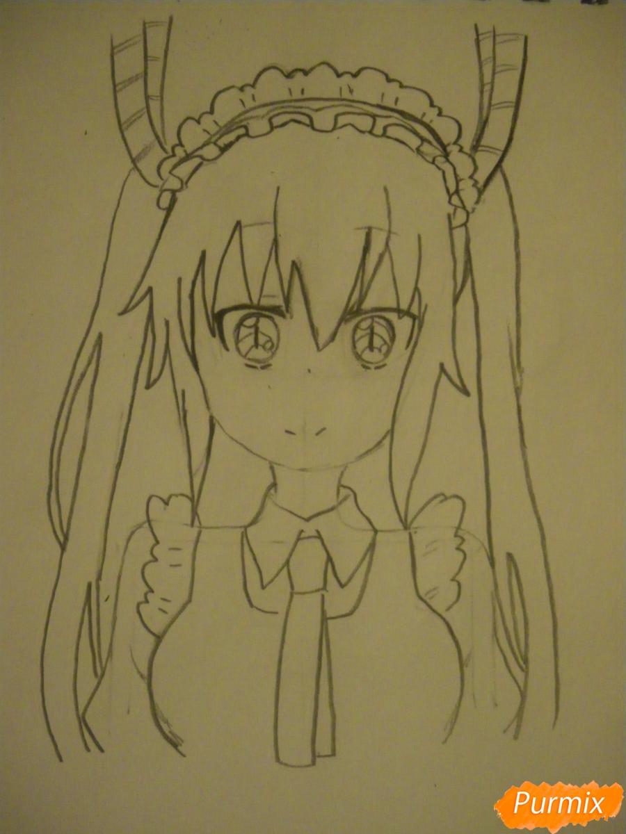 рисунок аниме
