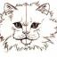 Как рисовать морду котов