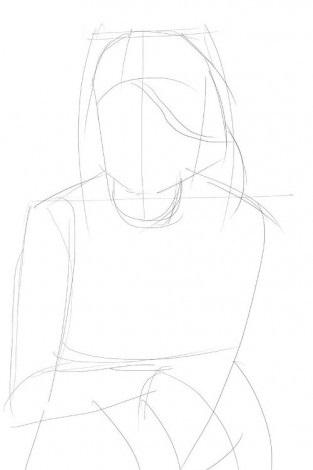 Как-нарисовать-Селену-Гомес-карандашом-поэтапно-2-313x470