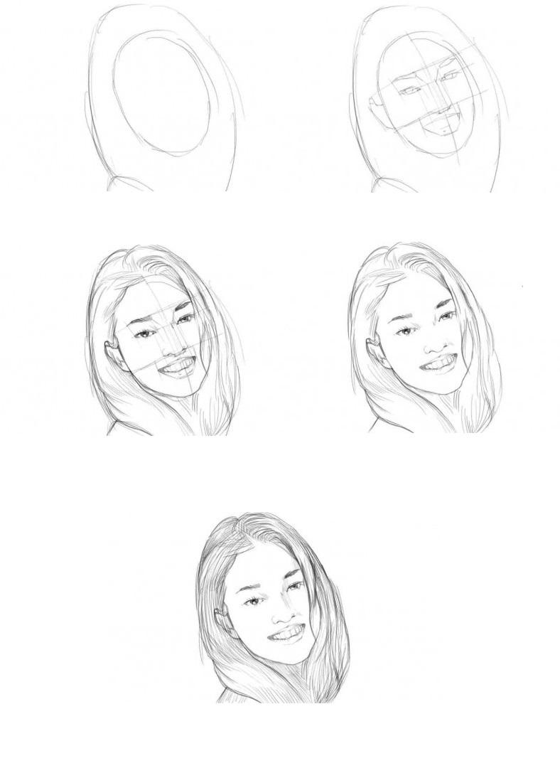Как-нарисовать-девушку-с-красивой-улыбкой