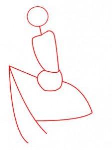 как нарисовать эльфийку